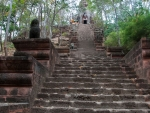 A few of the stairs leading up to Banan Temple