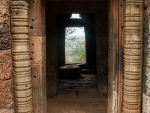 Entrance to one of the five temples
