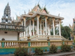 The new Buddha Temple at Phnom Ek