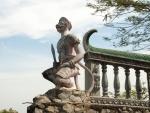 Monkey statue found at Phnom Sapeau Temple