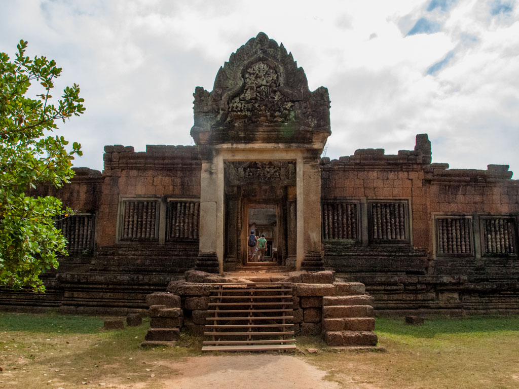 The entrance of Banteay Samre Temple