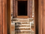 Hallway leading to the inner sanctum