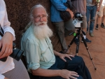 Ted Brattstrom producing a GigaPan with automated camera