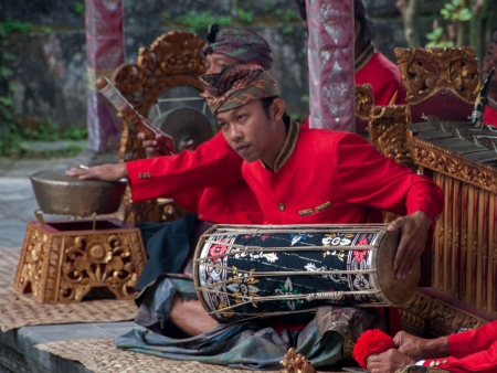 Traditional Balinese musical instruments