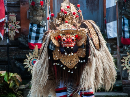 Close up of the Barong
