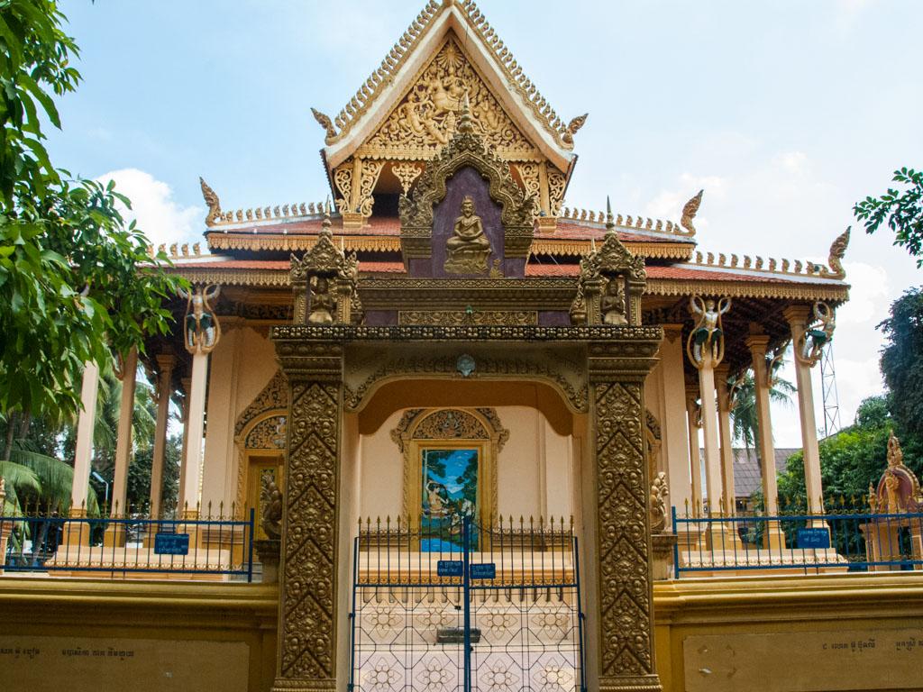 Wat Pipetharam entrance gate