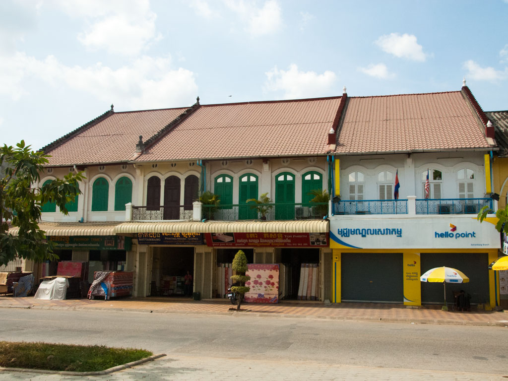 French influences in Indochinese shop houses
