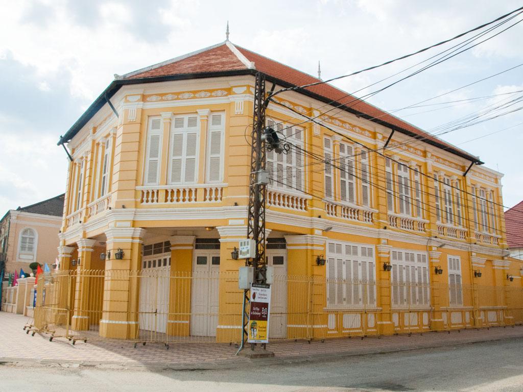 Restored Corner Building and Villa
