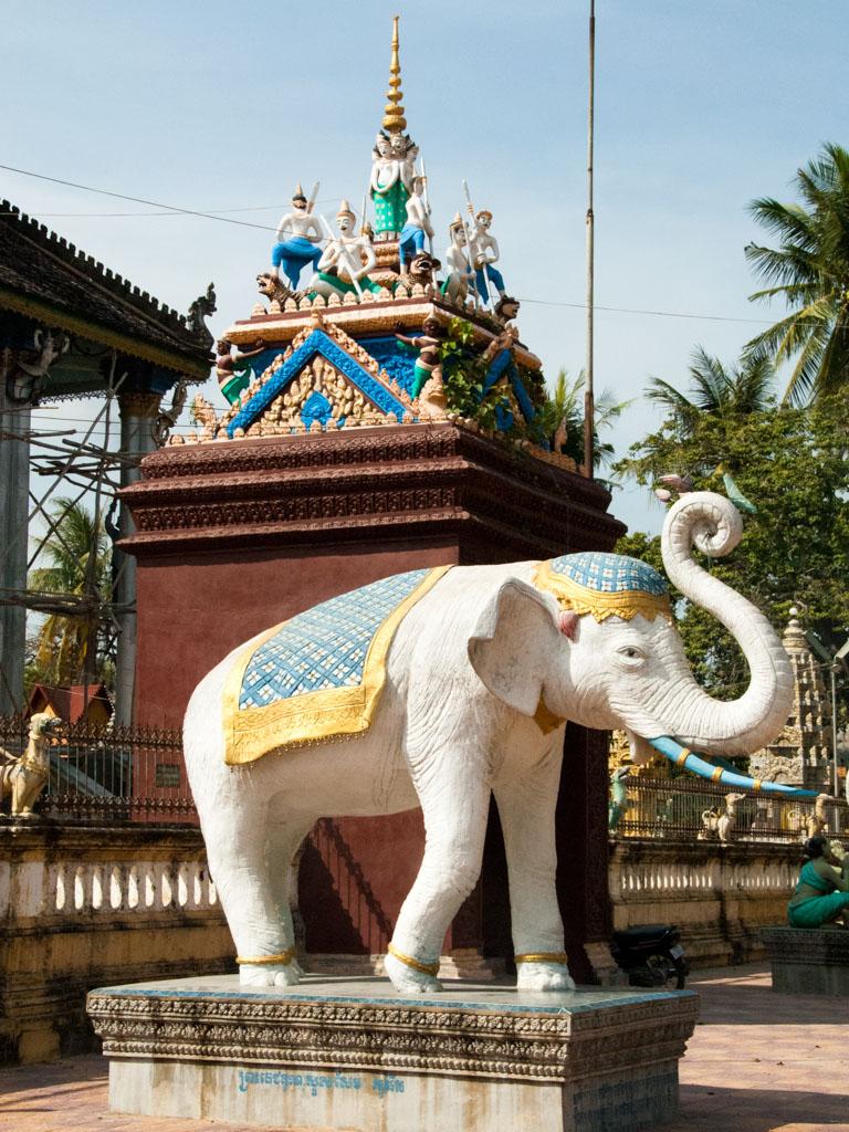 One of the many white elephants