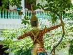Archer at the surrounds of Wat Pipetharam