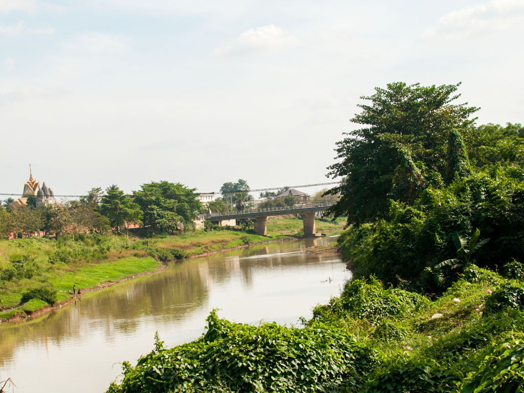 View of Sangker River