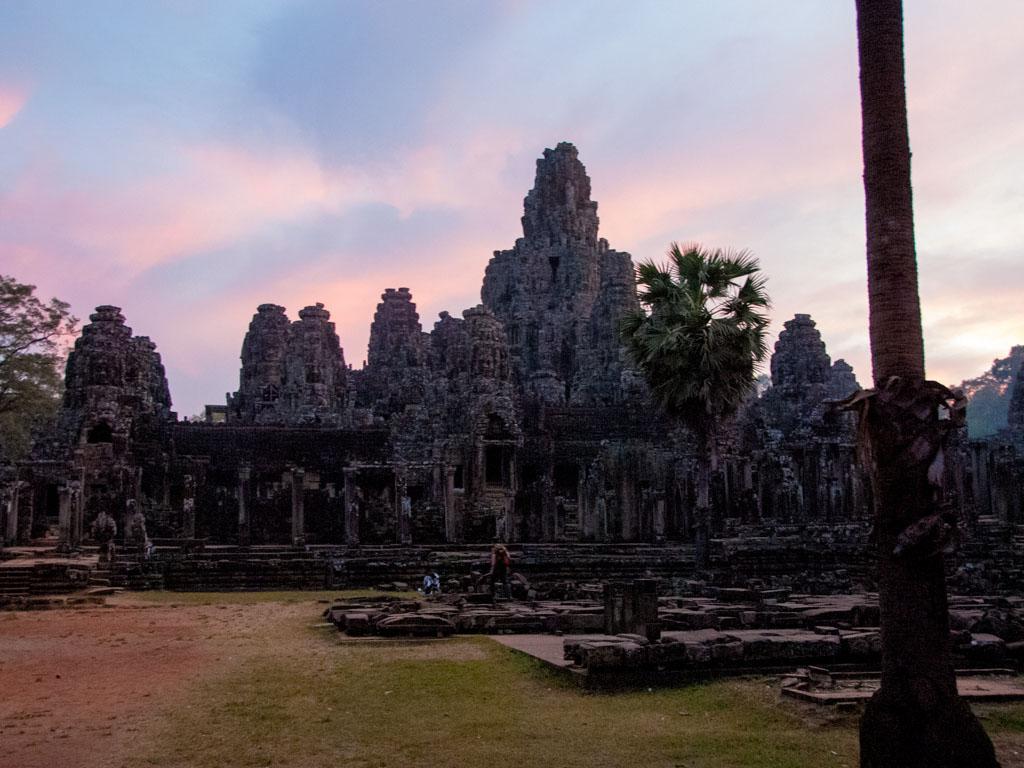 Bayon Temple at sunset