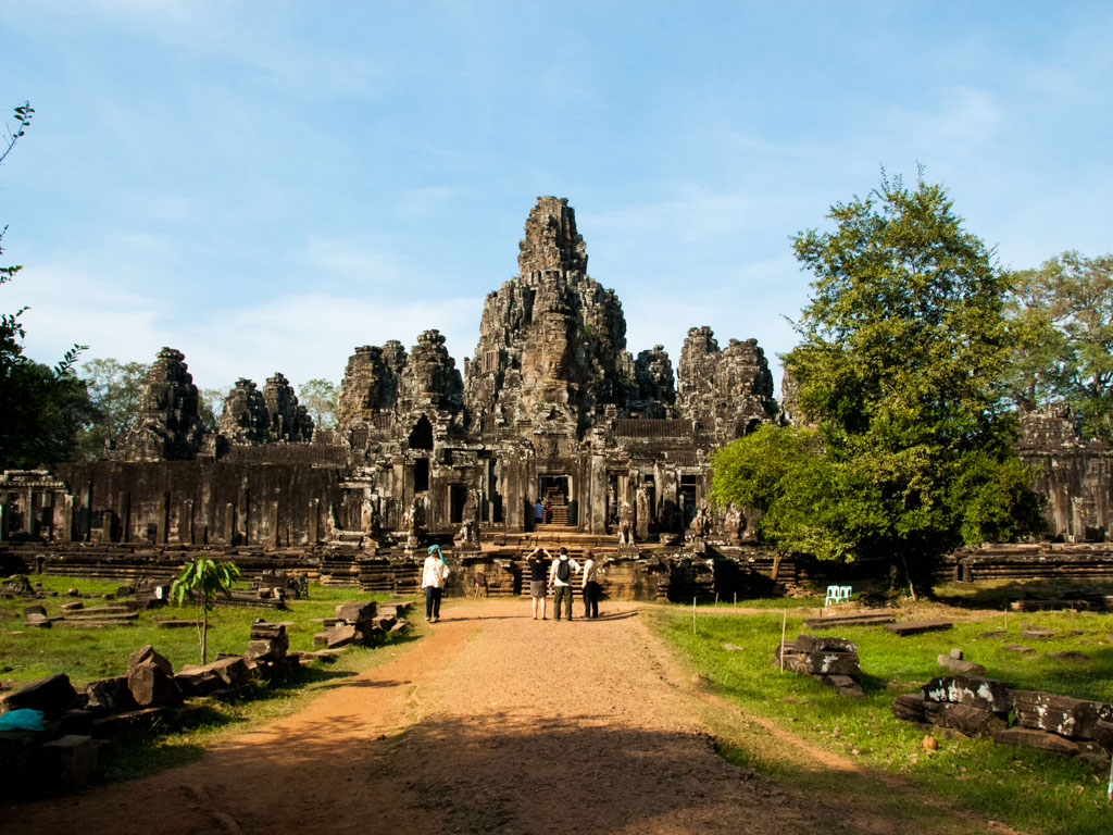 Bayon temple viewed from the South