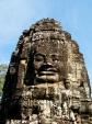 Smiling face at Bayon temple