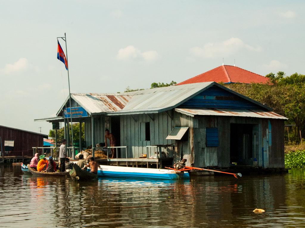 Floating villages of Phum Bak Prea