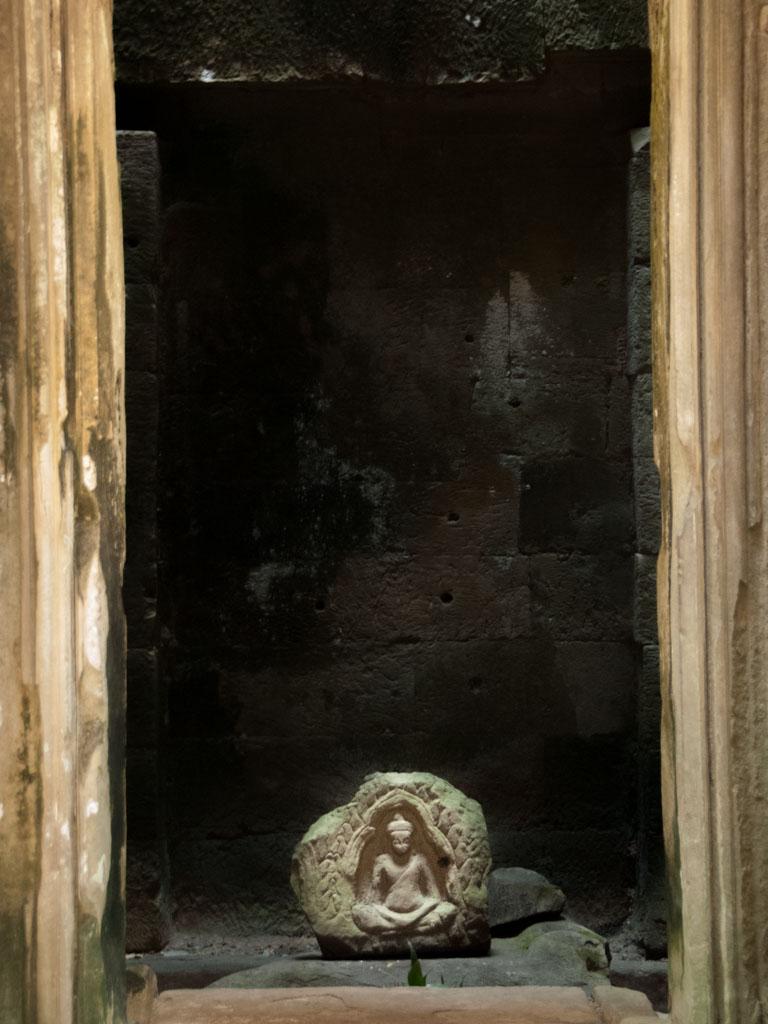 Chau Say Thevoda Temple main shrine
