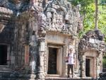 Travis at Chau Say Thevoda Temple