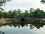 Looking over the four pools at Neak Pean