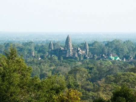 Angkor Wat viewed from Phnom Bakheng