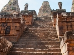 Pre Rup stairs to the base of the three towers