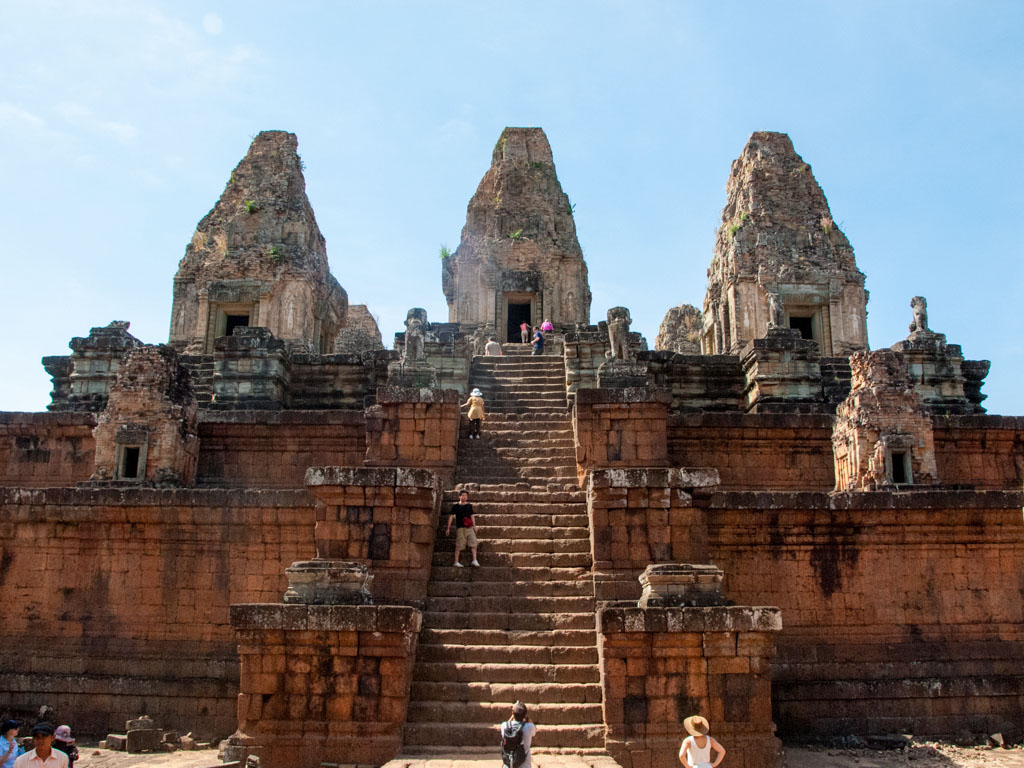 The three towers of Pre Rup