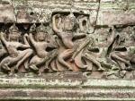 Dancing apsara in the dance hall