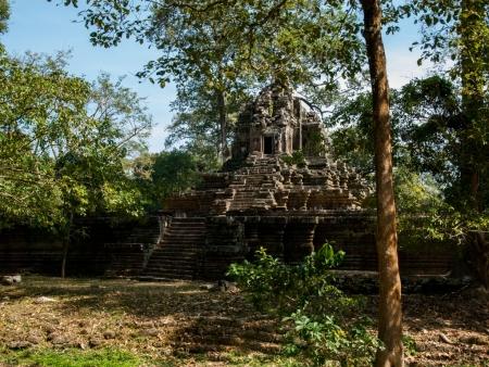 Looking towards Temple X