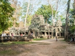 The western entrance of Ta Prohm