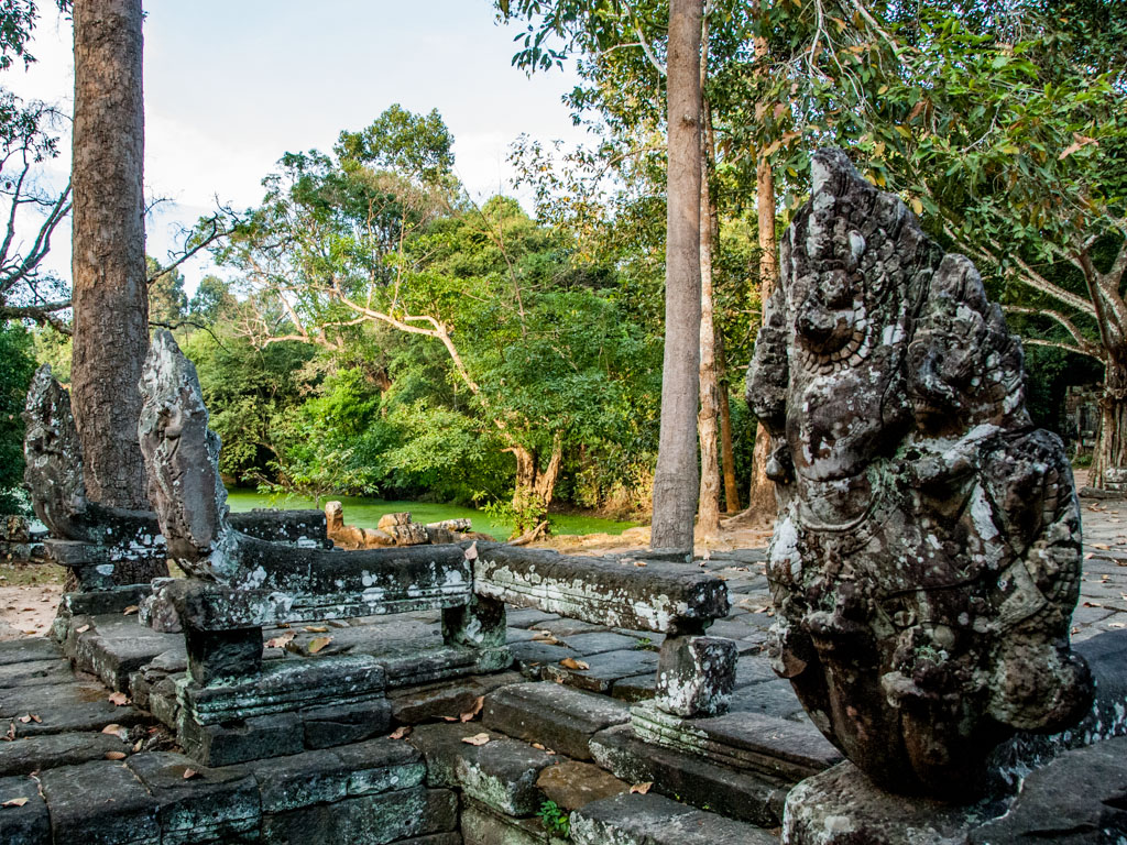 Nagas at Banteay Kdei Temple