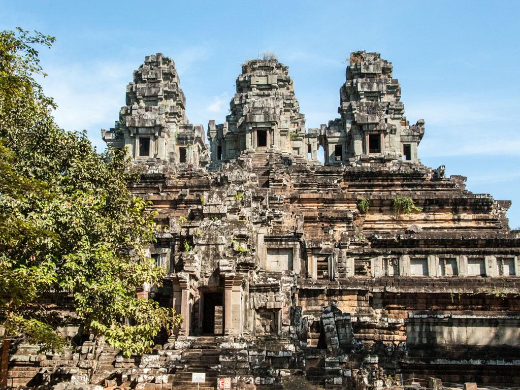 Ta Keo Temple, a temple-mountain