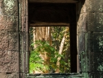 Stone window of Thommanon Temple