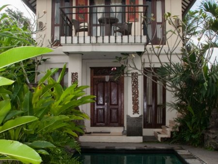 Our villa in Ubud Bali
