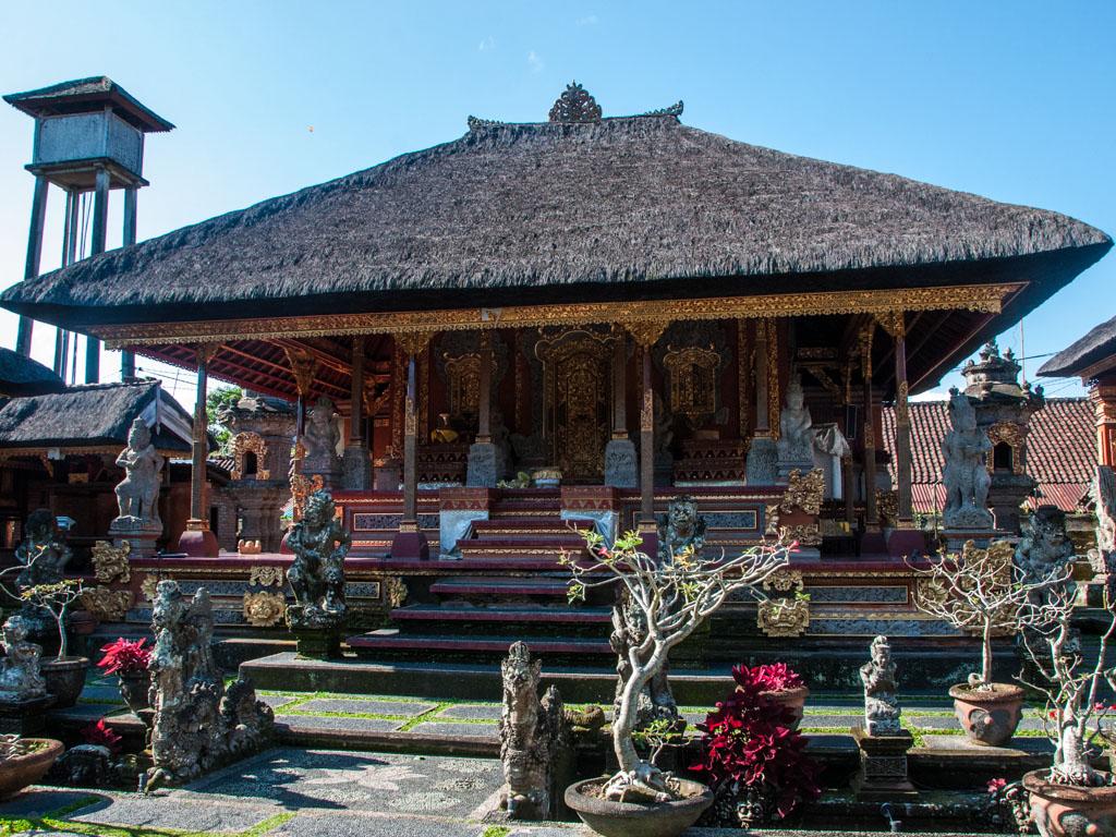 Ubud City Ubud Palace Pura Saraswati And Museum Pura