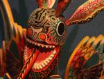 World Showcase Mexico wood carved art
