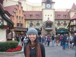 Sonya in World Showcase Germany