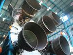 Saturn V F-1 rocket engines