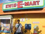 Travis at the Kwik-E-Mart