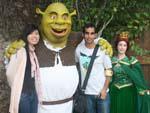 Sonya and Travis and Shrek