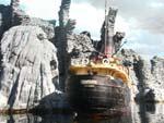 SSS Venture approaching Skull Island