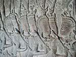 The army of King Suryavarman II