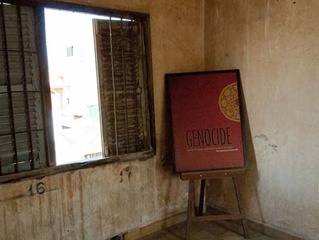 One of the rooms with a genocide display