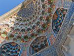 Abdul Aziz Khan Medressa stalactites