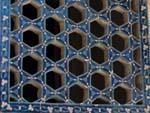 Blue medressa window