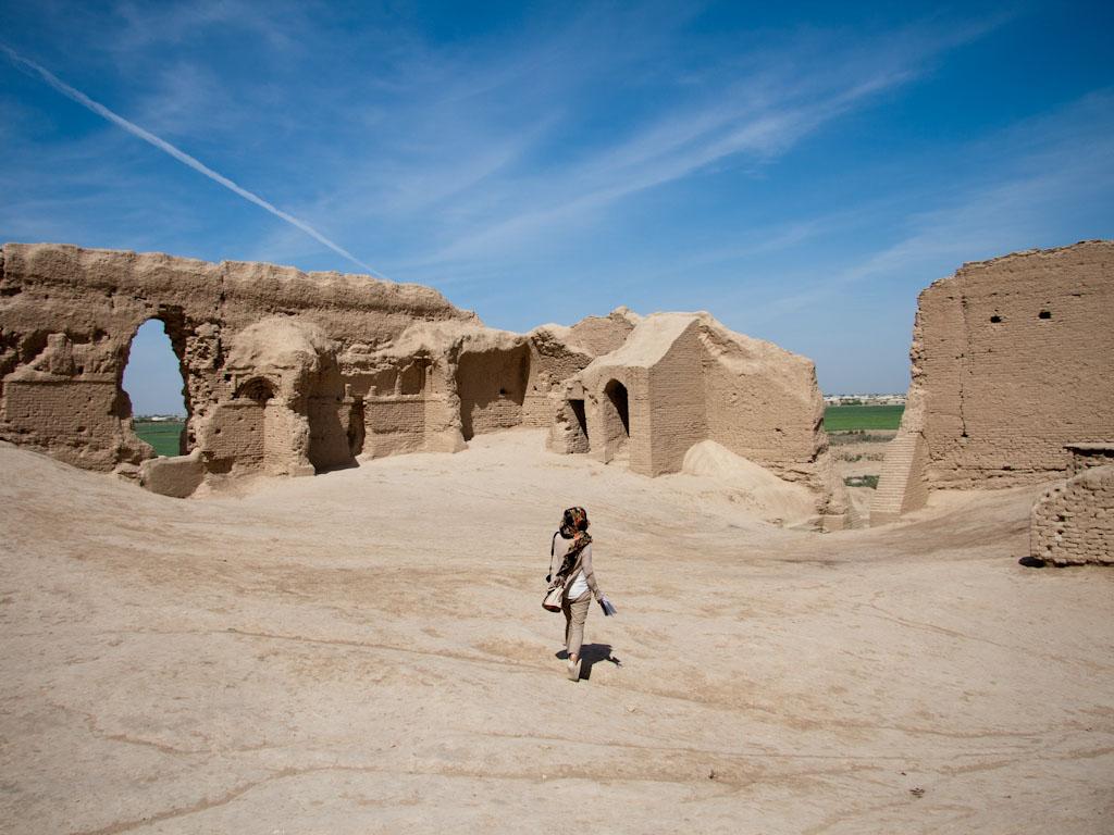 Ancient Merv Turkmenistan Sonya And Travis