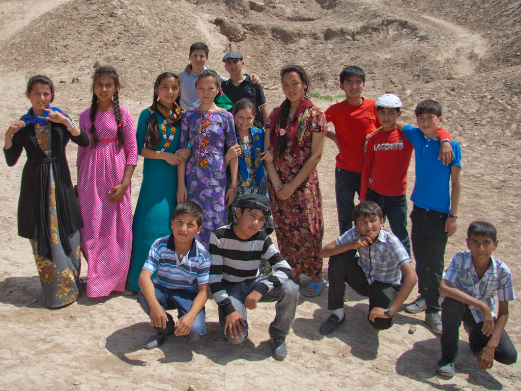 Ancient Merv, Turkmenistan - Sonya and Travis