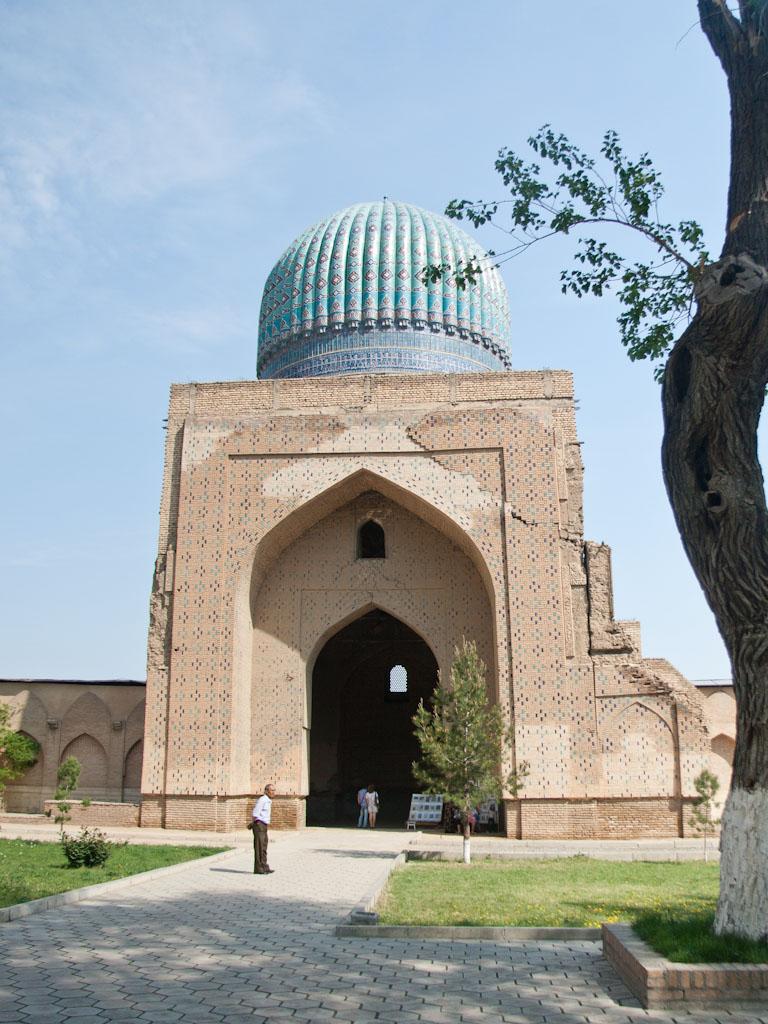 Samarkand Uzbekistan Sonya And Travis