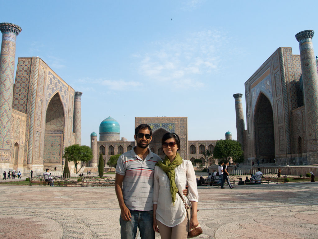 Taking Back Streets >> Samarkand, Uzbekistan - Sonya and Travis