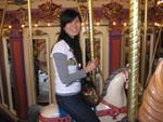 Sonya on King Arthur's Carrousel