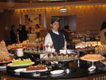 JW Marriott Cafe dessert bar