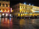 Largo do Senado at night